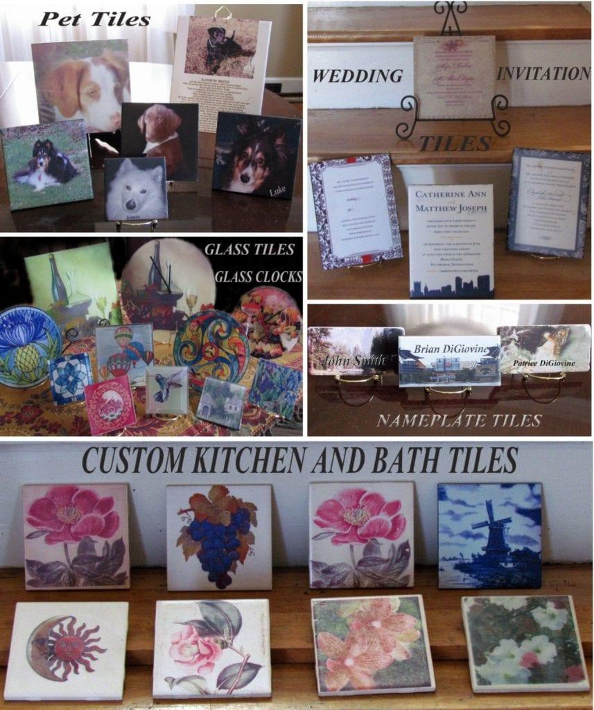 Photo Tiles Wedding Gift